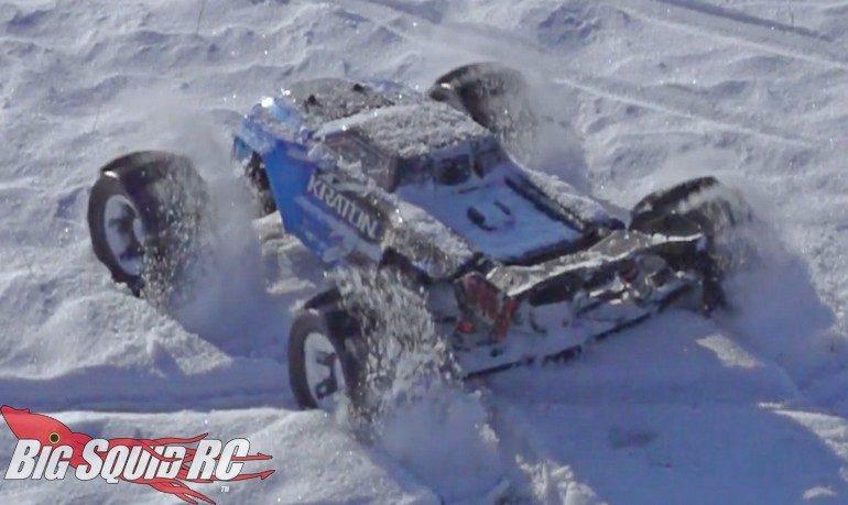 ARRMA Kraton Snow Video