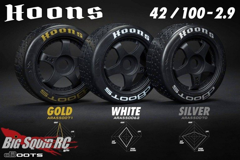 ARRMA dBoots HOONS Belted On-Road Tires