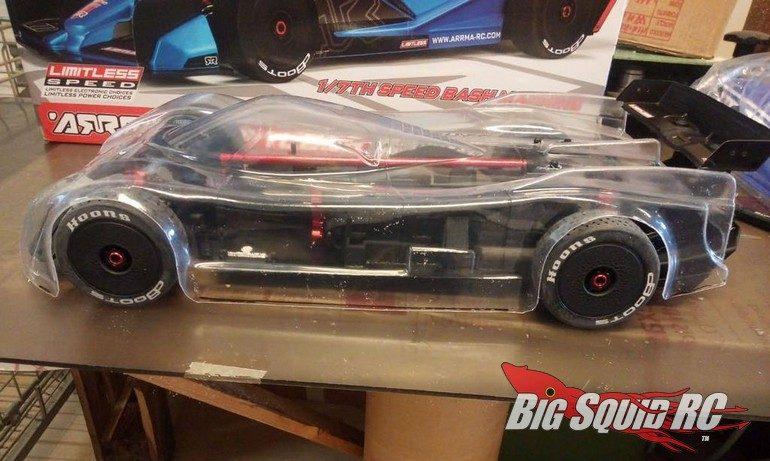 Delta Plastik USA RC 7th Jag XRS Li High Speed Body
