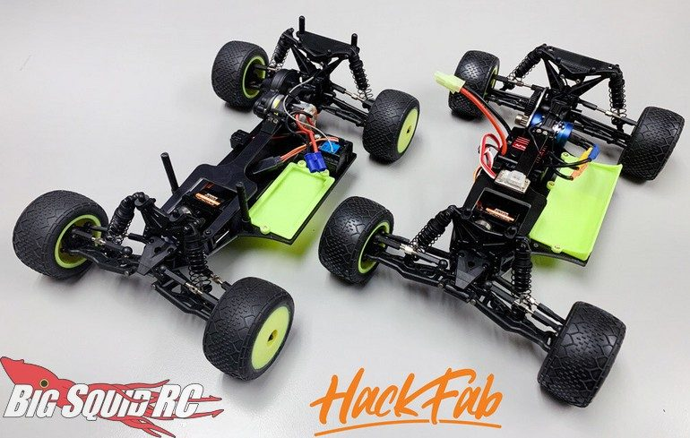 Hack Fab Losi Mini-T 2.0 EDM Late Model Oval Chassis Conversion Kit
