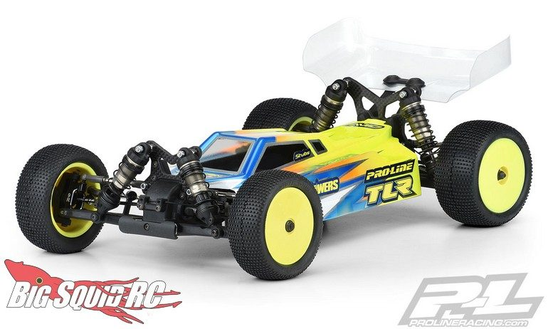 Pro-Line Axis Light Weight Clear Body TLR 22X-4