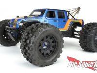Pro-Line Badlands MX38 HP 3.8 Belted Tires Mounted