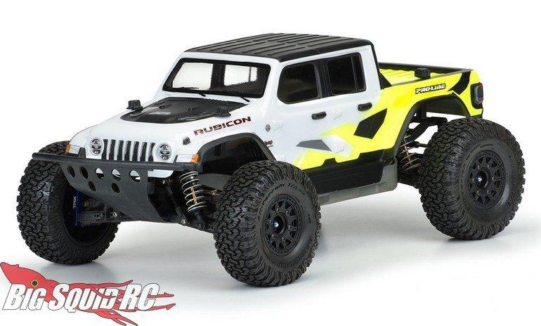 Pro-Line Jeep Gladiator Rubicon Clear Body SC MT