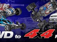Traxxas 2wd To 4WD Conversion