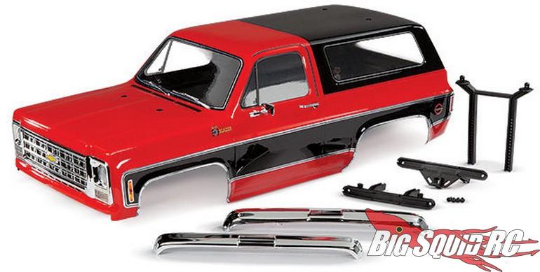 New Assembled Chevrolet Blazer Body Kits From Traxxas ...