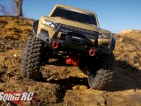 Traxxas TRX-4 Sport Desert Tan Scale Crawler Video
