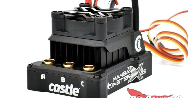 Castle 6th Scale Mamba Monster X 8S Brushless ESC