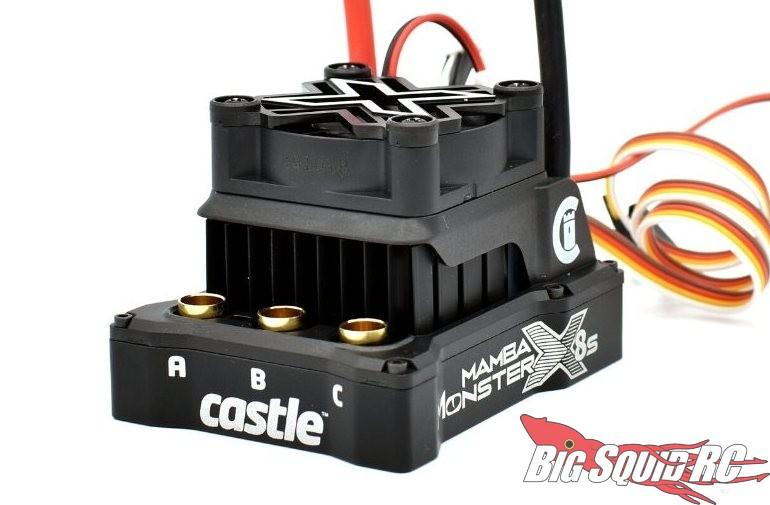 Castle 6th Scale Mamba Monster X 8S Brushless ESC