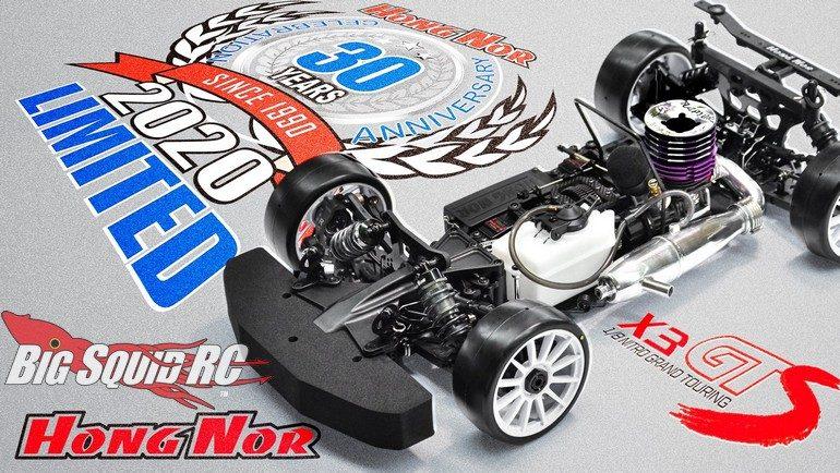 Hong Nor X3GTS 30th Anniversary Limited Edition Kit