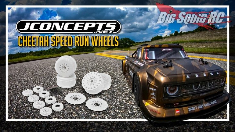 JConcepts Cheetah 83mm Speed-Run Wheels
