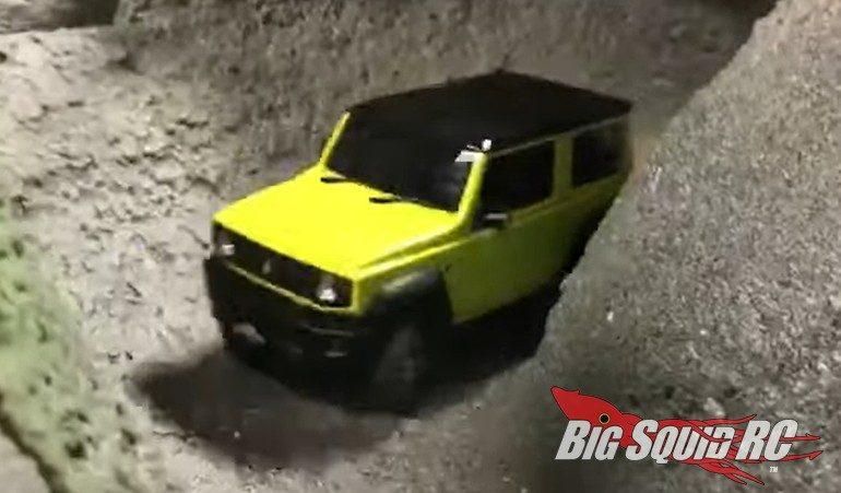 Kyosho Mini-Z Suzuki Jimny Action Video