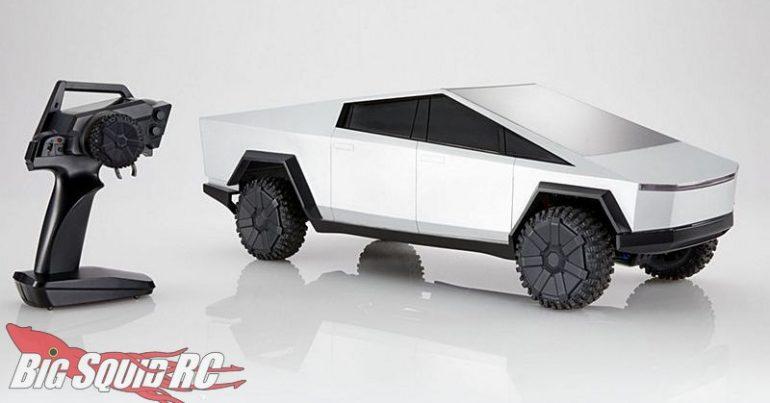 Mattel Hot Wheels RC Cybertruck