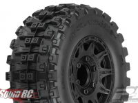 "Pro-Line Badlands MX28 HP 2.8"" Belted Tires Mounted"