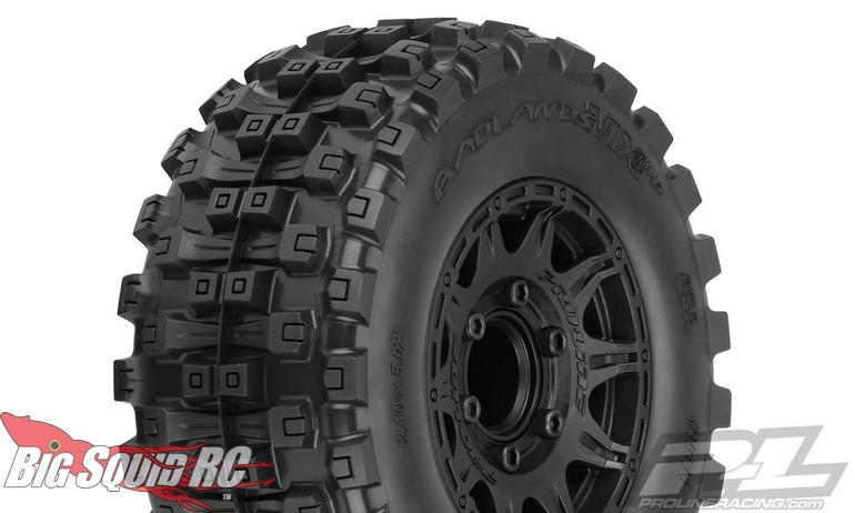 """Pro-Line Badlands MX28 HP 2.8"""" Belted Tires Mounted"""