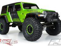 Pro-Line Jeep Wrangler JL Unlimited Rubicon Clear Body