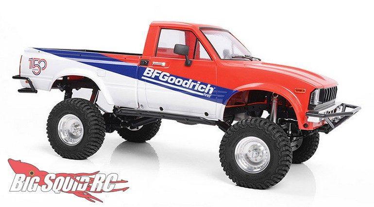 RC4WD Trail Finder 2 RTR Mojave II Body Set BFGoodrich 150th Anniversary Edition