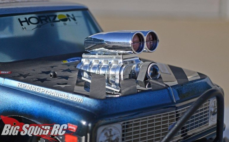 RPM Shotgun Style Mock Intake & Blower Set Scale RC