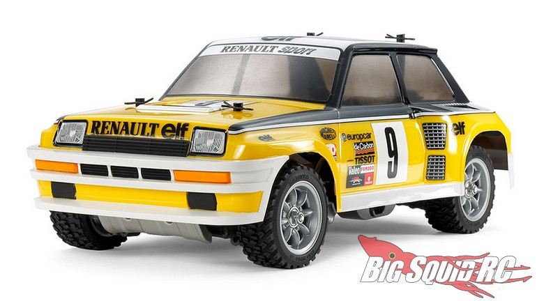 Tamiya Renault 5 Turbo Rally