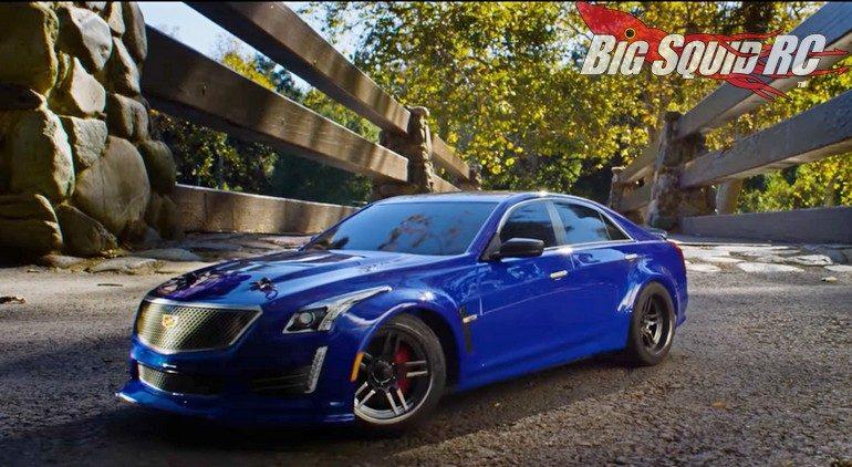 Traxxas Cadillac CTS-V 4-Tec Park Run