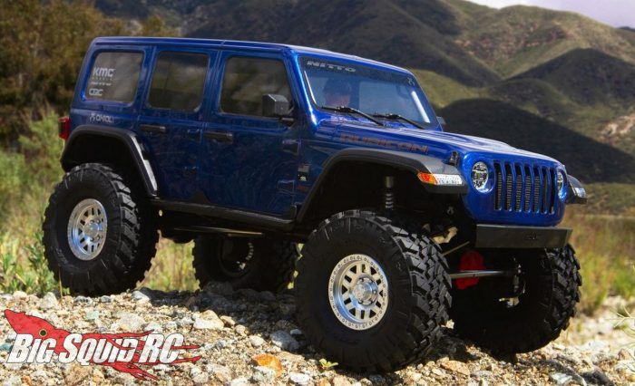 Axial Racing SCX10 III Jeep JL Wrangler Portals Kit