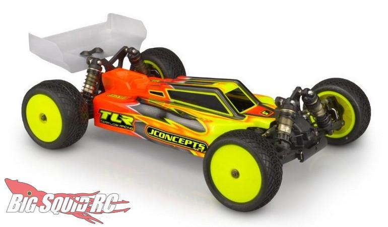 JConcepts F2 Body TLR 22X-4