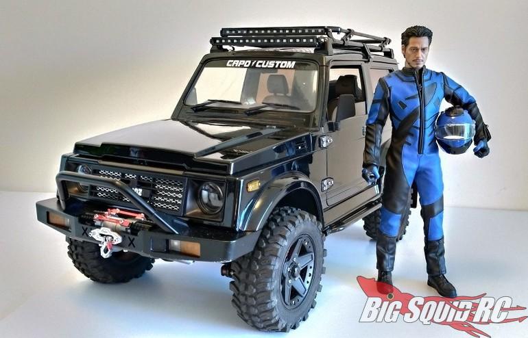 Kaioz RC Model Studio Scale Realistic Male Driver Figures