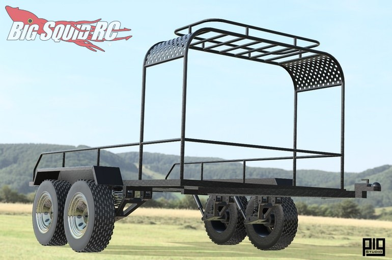 Pig Studio 1/10 Scale RC Trailer