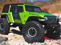 Pro-Line Jeep Wrangler JL Unlimited Rubicon Clear Body Video