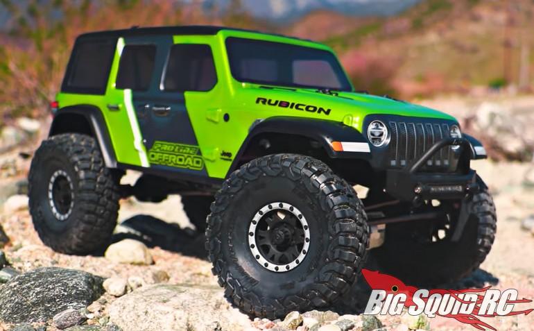 Pro-Line Jeep Wrangler JL Unlimited Rubicon Clear Body Video