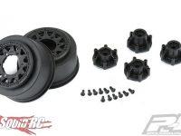 Pro-Line Raid Black 6x30 Removable Hex SC Wheels