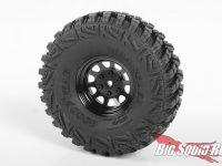 RC4WD Stamped Steel 1.7 Black Wagon Wheels