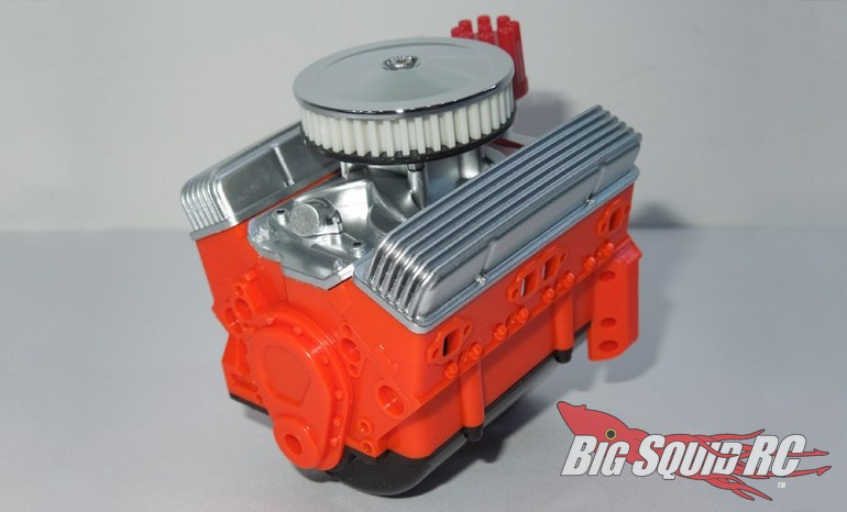 SSD RC 10th Scale V8 Engine Motor Cover Set