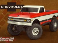 "JConcepts 1970 Chevy C10 12.3"" WB Clear Body"