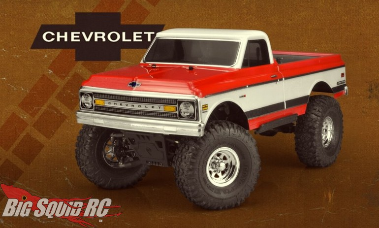"""JConcepts 1970 Chevy C10 12.3"""" WB Clear Body"""