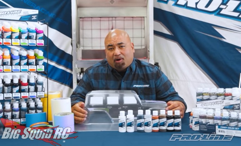 Pro-Line How To Airbrush Video