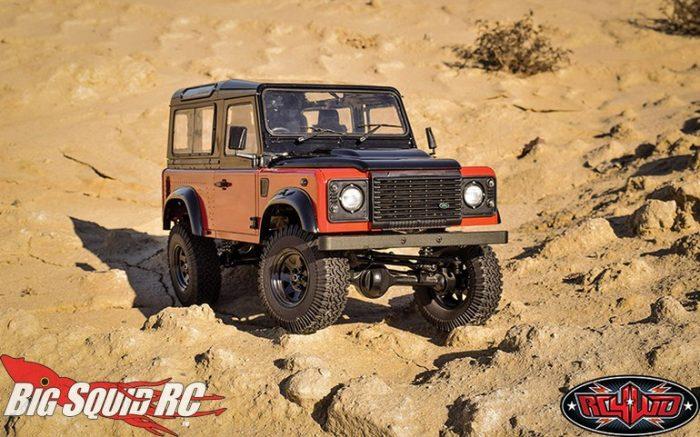 RC4WD Autobiography Limited Edition 2015 Land Rover Defender D90 Gelande II RTR