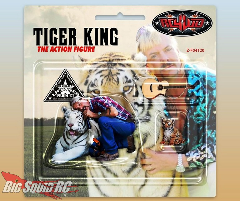RC4WD Tiger King Action Figure