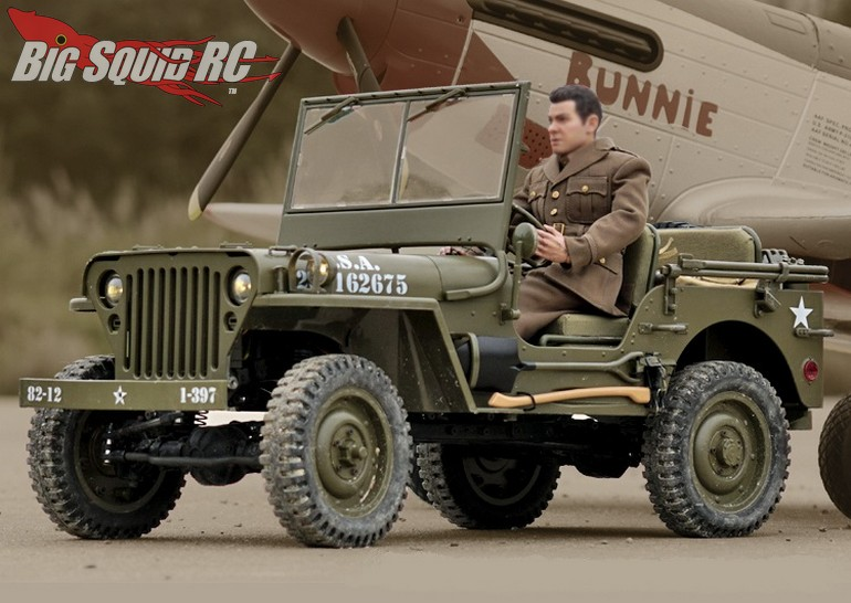 ROC Hobby 6th Scale 1941 Willys MB RTR
