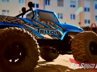 Team Corally Triton SP 2WD Monster Truck Video
