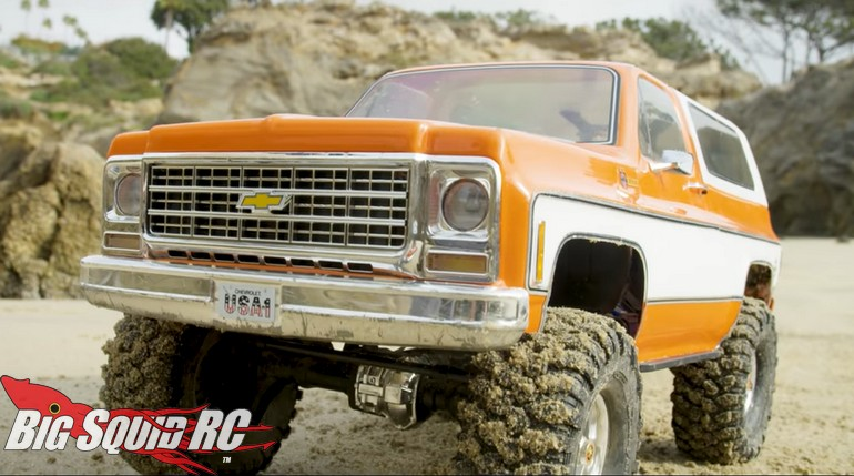 Traxxas Chevy K-5 Blazer Video