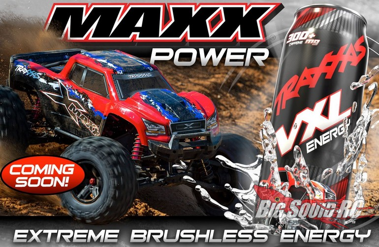 traxxas rc vxl energy drink