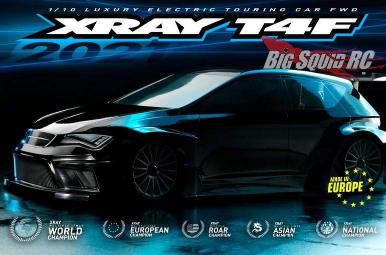 XRay T4F 2021 FWD Touring Car