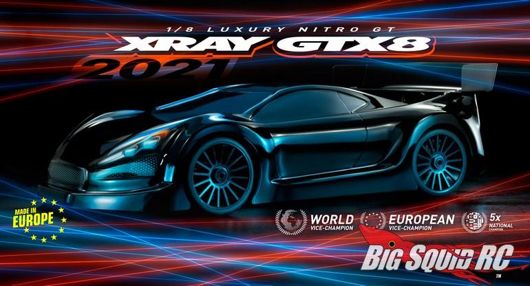 2021 XRay GTX8 Nitro On-Road Kit