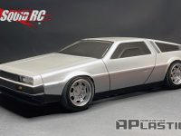 APlastics RC DeLorean DMC12 Touring Car Body