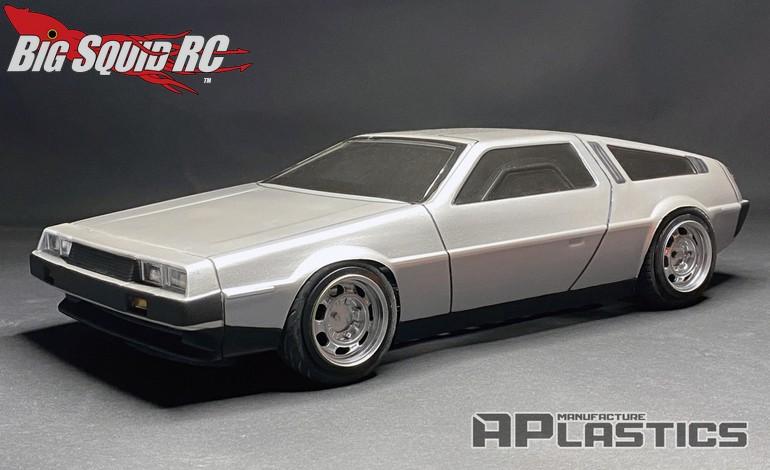 APlastics RC DeLorean DMC12 Touring Car Body