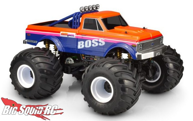 JConcepts 1970 Chevy K10 Clear Body