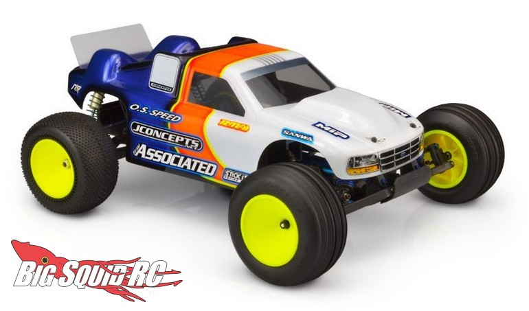 JConcepts Authentic Team Associated RC10GT Gas Truck II 96 Clear Body