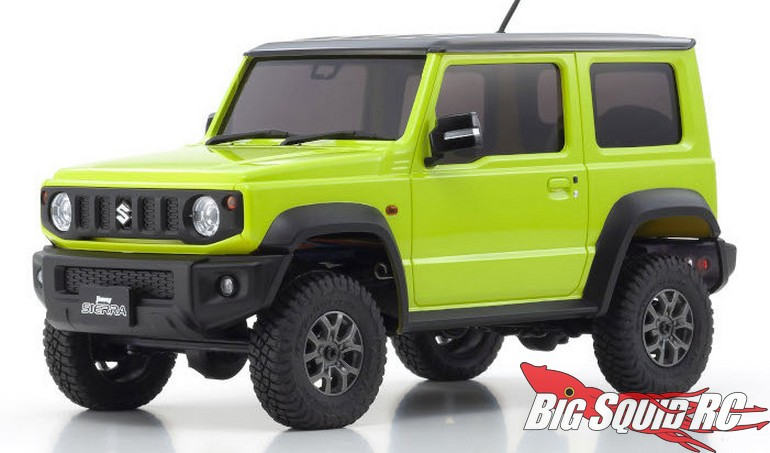 Kyosho Mini-Z 4×4 Jimny Readyset Video
