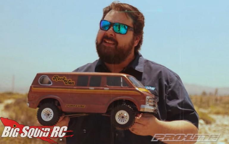 Video Pro-Line RC 70s Rock Van