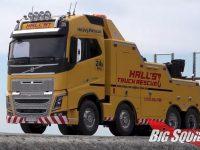 Tamiya Volvo FH16 Globetrotter 750 Tow Truck